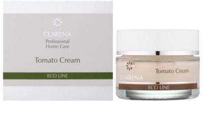 Clarena Eco Line Tomato crema pentru reintinerire pentru a restabili fermitatea pielii 1