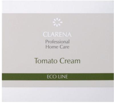 Clarena Eco Line Tomato crema rejuvenecedora para recuperar la firmeza de la piel 2
