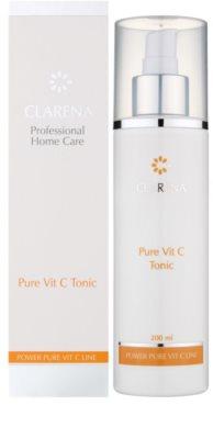 Clarena Power Pure Vit C Line čistiace tonikum pre citlivú pleť 1
