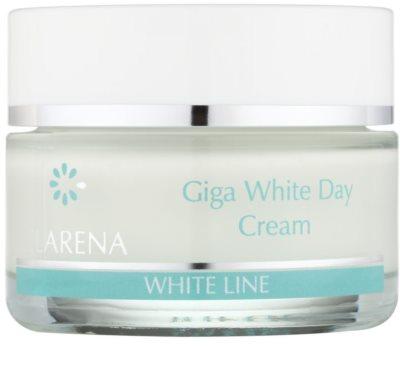 Clarena White Line Giga bleichende Tagescreme zur Vereinheitlichung der Hautfarbe