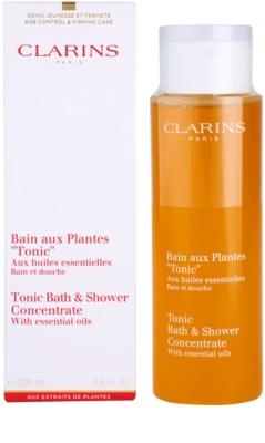 Clarins Body Age Control & Firming Care Dusch- und Badgel mit ätherischen Öl 1