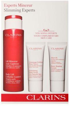 Clarins Body Expert Contouring Care zestaw kosmetyków I.