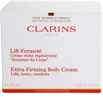 Clarins Body Extra-Firming crema  corporal reafirmante 3