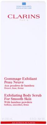 Clarins Body Exfoliating Care feuchtigkeitsspendendes Körperpeeling für sanfte und weiche Haut 2