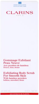 Clarins Body Exfoliating Care peeling corporal hidratante para pele fina e lisa 2