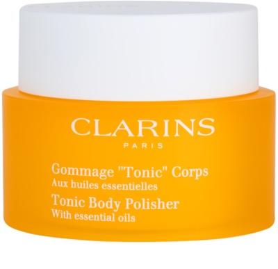 Clarins Body Exfoliating Care festigendes Bodypeeling mit ätherischen Öl