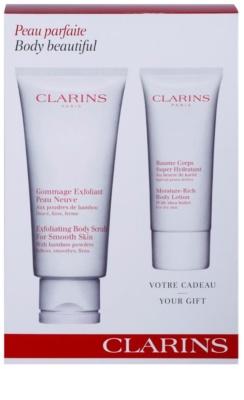 Clarins Body Exfoliating Care козметичен пакет  I.