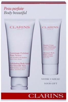 Clarins Body Exfoliating Care zestaw kosmetyków I.
