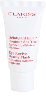 Clarins Beauty Flash gel de contorno de olhos antirrugas, anti-olheiras, anti-inchaços