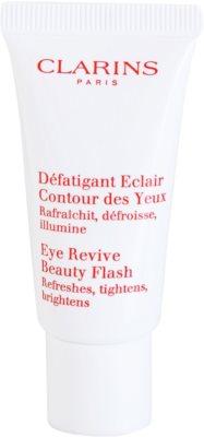 Clarins Beauty Flash очен гел  против бръчки, отоци и черни кръгове