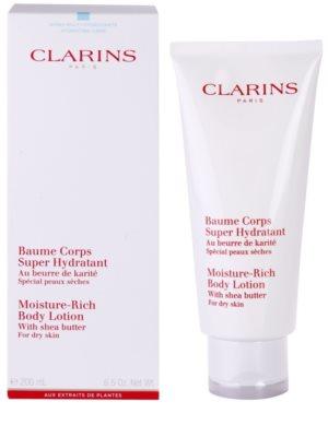 Clarins Body Hydrating Care leite corporal hidratante para pele seca 1