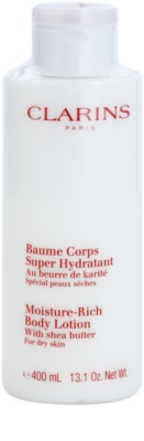 Clarins Body Hydrating Care leche corporal hidratante para pieles secas