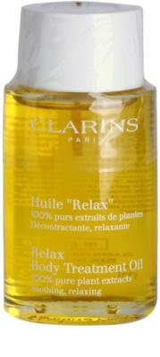 Clarins Body Specific Care aceite corporal relajante  con extractos vegetales