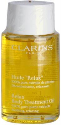 Clarins Body Specific Care relaksacijsko olje za telo z rastlinskimi izvlečki