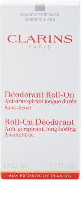 Clarins Body Specific Care deodorant roll-on 2