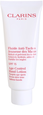 Clarins Body Specific Care bőrfiatalító folyadék a kéz pigmentfoltjai ellen SPF 15