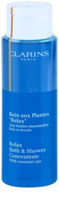 Clarins Body Specific Care relaksacijski gel za prhanje in kopanje z eteričnimi olji