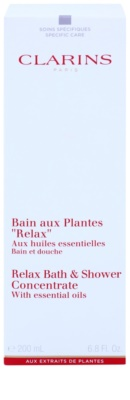 Clarins Body Specific Care Relax Bath & Shower Concentrate With Essentials Oils 2