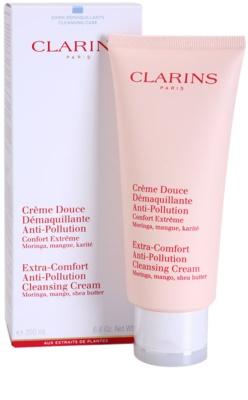 Clarins Cleansers crema pentru curatare cu efect de hidratare 1