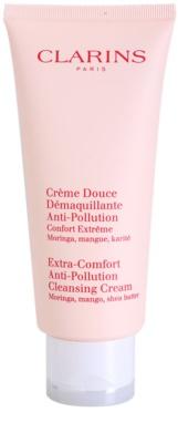 Clarins Cleansers Reinigungscreme mit feuchtigkeitsspendender Wirkung