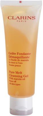 Clarins Cleansers gel de limpeza apaziguador para todos os tipos de pele