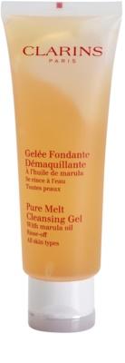 Clarins Cleansers успокояващ почистващ гел за всички типове кожа на лицето
