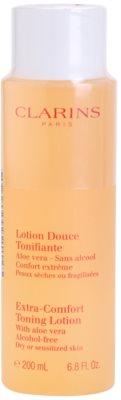 Clarins Cleansers osvežilni tonik za suho in občutljivo kožo