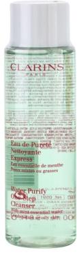 Clarins Cleansers čistilna voda za odstranjevanje ličil za mešano in mastno kožo