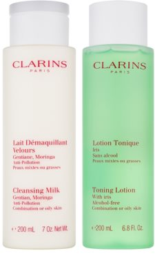 Clarins Cleansers lote cosmético VII.
