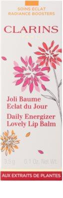 Clarins Daily Energizer odżywczy balsam do ust nawilżające i nadające blask 3