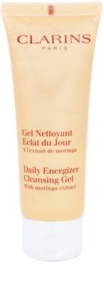 Clarins Daily Energizer gel limpiador refrescante con efecto humectante