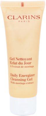 Clarins Daily Energizer освіжуючий очищуючий гель зі зволожуючим ефектом