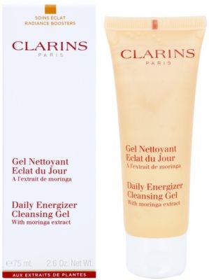 Clarins Daily Energizer gel fresh de curatare cu efect de hidratare 1