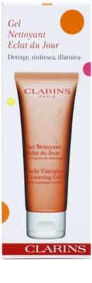 Clarins Daily Energizer osvežilni čistilni gel z vlažilnim učinkom 2