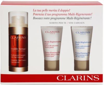 Clarins Double Serum козметичен пакет  III.