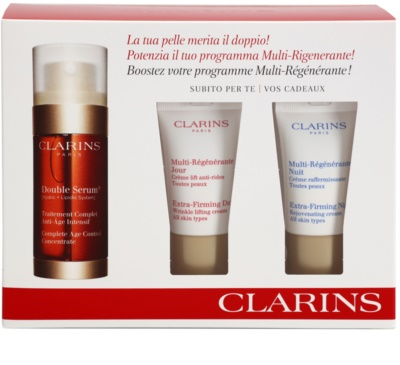 Clarins Double Serum kozmetični set III.