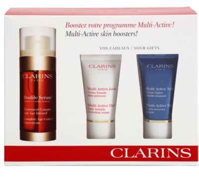 Clarins Double Serum set cosmetice IV.