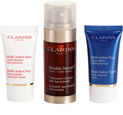 Clarins Double Serum lote cosmético IV. 1