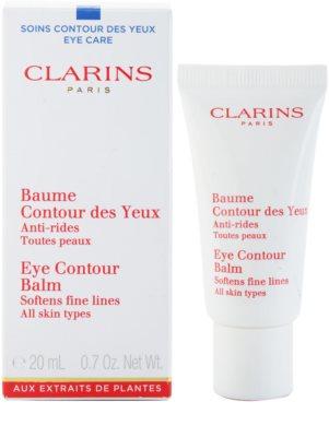 Clarins Eye Care vlažilni balzam za predel okoli oči proti gubam 1
