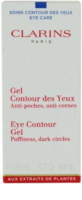 Clarins Eye Care gel pentru ochi impotriva cearcanelor si ochilor umflati 2