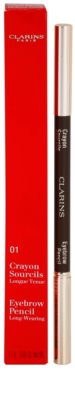 Clarins Eye Make-Up Crayon trwała kredka do brwi 2