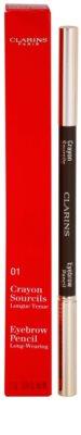 Clarins Eye Make-Up Crayon дълготраен молив за вежди 2