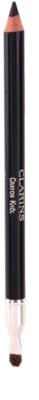 Clarins Eye Make-Up Crayon delineador de olhos com afia para maquilhagem com efeito esfumaçado