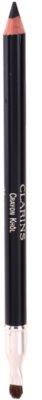 Clarins Eye Make-Up Crayon lápiz para ojos con sacapuntas para un look de ojos ahumados