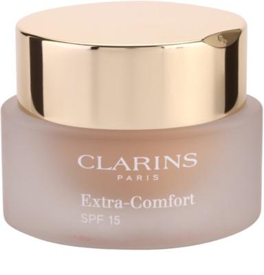 Clarins Face Make-Up Extra-Comfort aufhellendes und verjüngendes Make up für ein natürliches Aussehen SPF 15