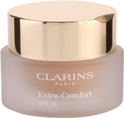 Clarins Face Make-Up Extra-Comfort podkład rozświetlająco-odmładzający nadający naturalny wygląd SPF 15