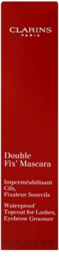 Clarins Eye Make-Up Double Fix' fijador resistente al agua  para pestañas y cejas 3