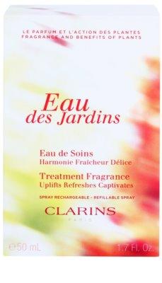 Clarins Eau Des Jardins osvěžující voda pro ženy  plnitelný 1