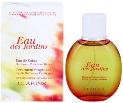 Clarins Eau Des Jardins erfrischendes Wasser für Damen  Nachfüllbar