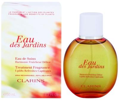 Clarins Eau Des Jardins orzeźwiająca woda dla kobiet  napełnialny
